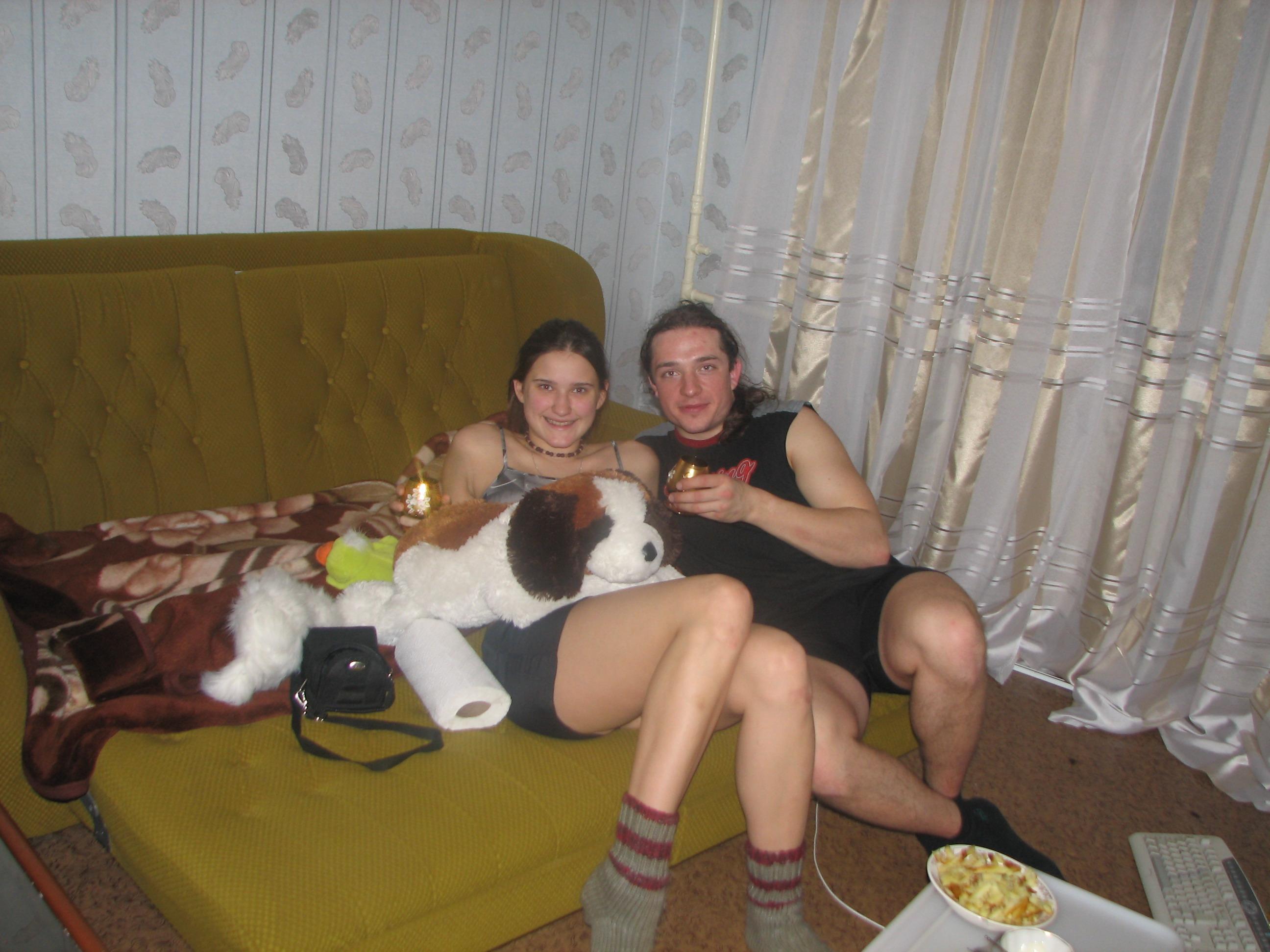 Алексей Ракша и Вика