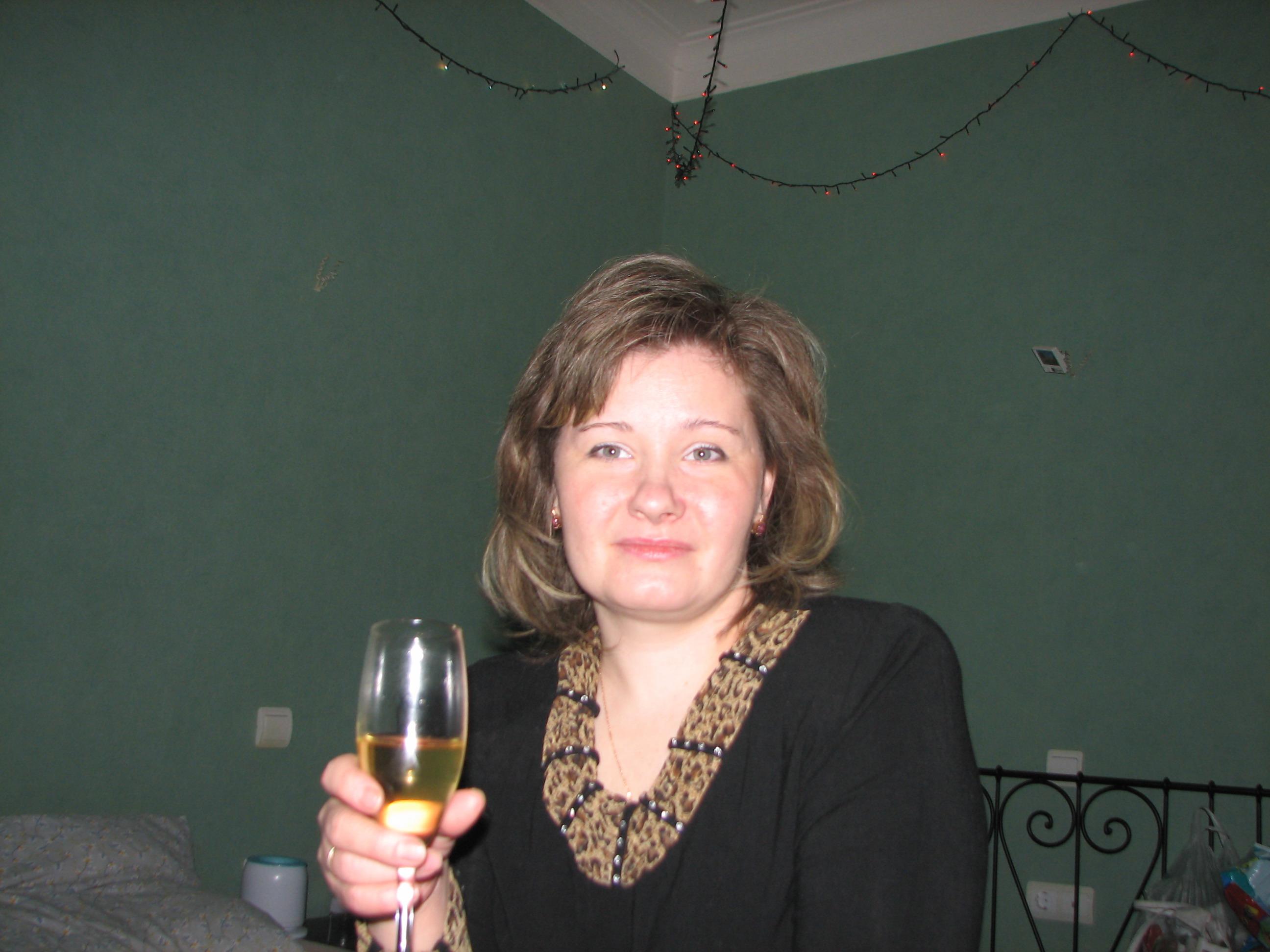 Аня - новый год